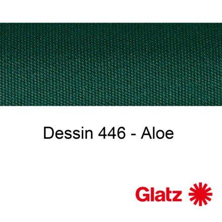 GLATZ Stoffmuster Dessin 446 Aloe
