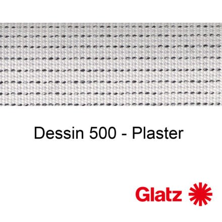 GLATZ Stoffmuster Dessin 500 Plaster