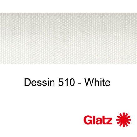 GLATZ Stoffmuster Dessin 510 White