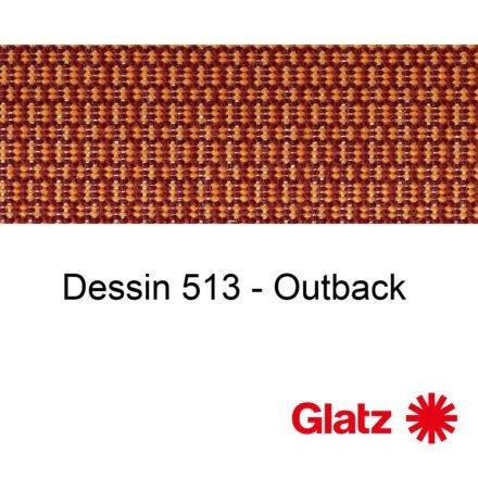 GLATZ Stoffmuster Dessin 513 Outback