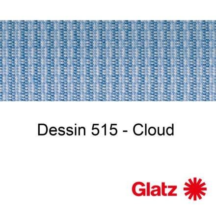 GLATZ Stoffmuster Dessin 515 Cloud