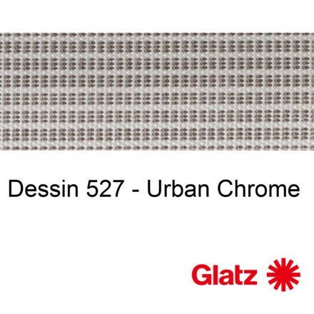 GLATZ Stoffmuster Dessin 527 Urban Chrome