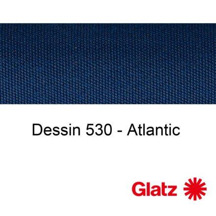GLATZ Stoffmuster Dessin 530 Atlantic