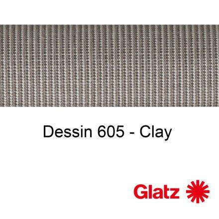 GLATZ Stoffmuster Dessin 605 Clay