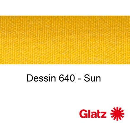 GLATZ Stoffmuster Dessin 640 Sun