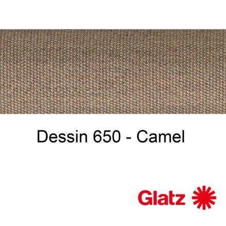 GLATZ Stoffmuster Dessin 650 Camel