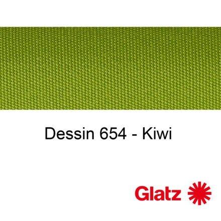 GLATZ Stoffmuster Dessin 654 Kiwi