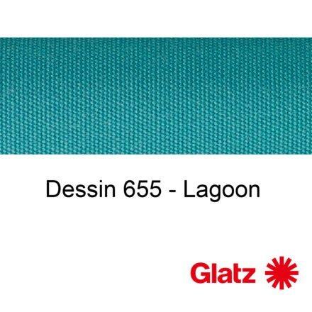 GLATZ Stoffmuster Dessin 655 Lagoon
