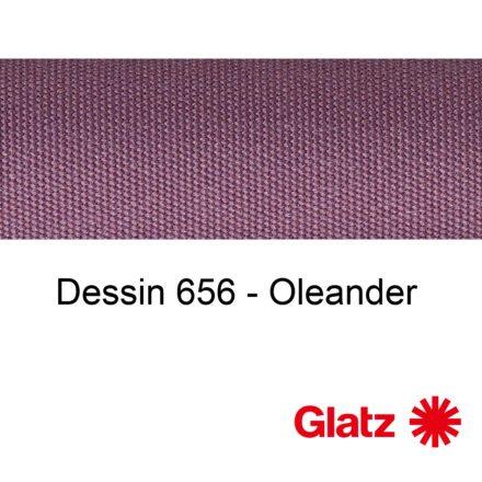 GLATZ Stoffmuster Dessin 656 Oleander