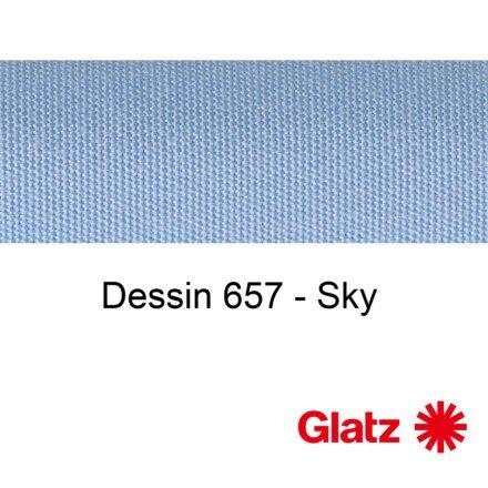 GLATZ Stoffmuster Dessin 657 Sky