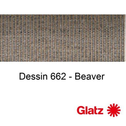 GLATZ Stoffmuster Dessin 662 Beaver