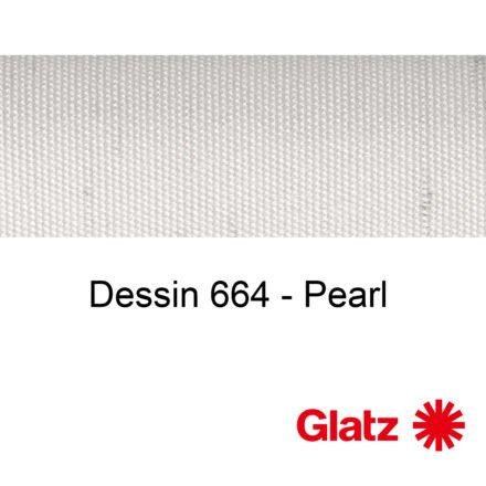 GLATZ Stoffmuster Dessin 664 Pearl