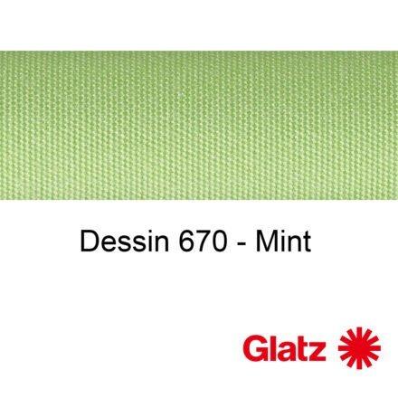 GLATZ Stoffmuster Dessin 670 Mint