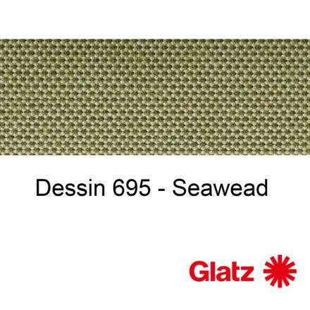 GLATZ Stoffmuster Dessin 695 Seawead