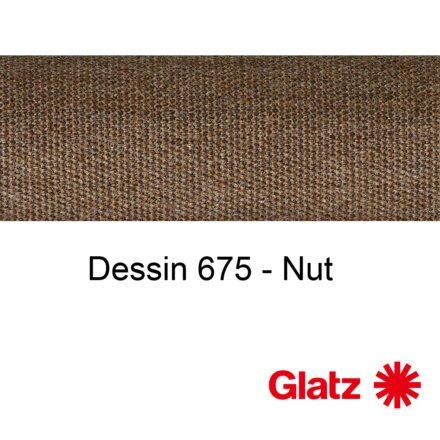 GLATZ Stoffmuster Dessin 675 Nut