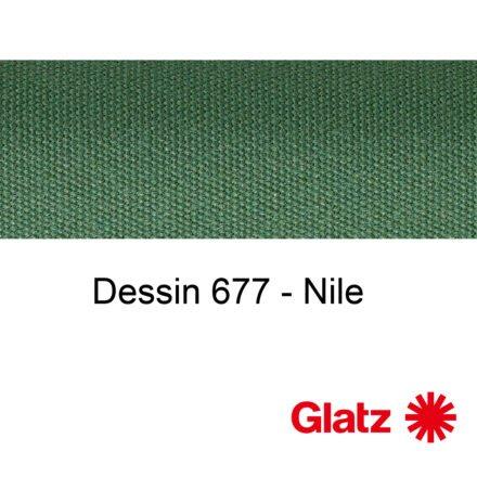 GLATZ Stoffmuster Dessin 677 Nile