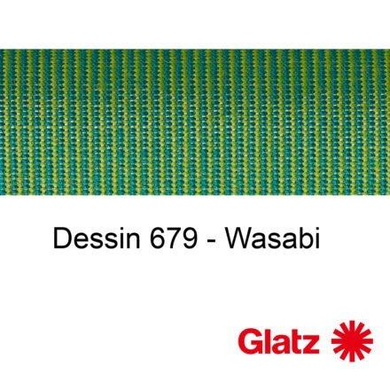 GLATZ Stoffmuster Dessin 679 Wasabi