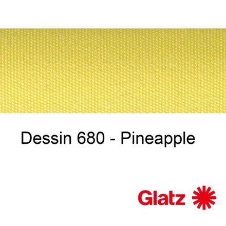 GLATZ Stoffmuster Dessin 680 Pineapple