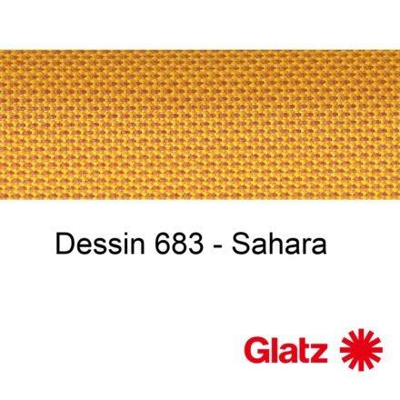 GLATZ Stoffmuster Dessin 683 Sahara
