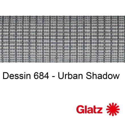 GLATZ Stoffmuster Dessin 684 Urban Shadow