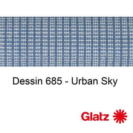 GLATZ Stoffmuster Dessin 685 Urban Sky