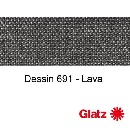 GLATZ Stoffmuster Dessin 691 Lava