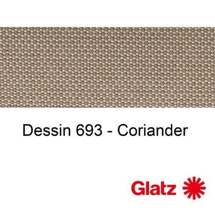 GLATZ Stoffmuster Dessin 693 Coriander