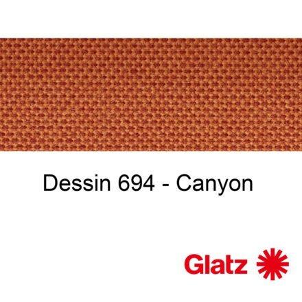 GLATZ Stoffmuster Dessin 694 Canyon