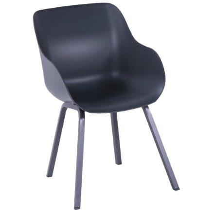 "Hartman ""Sophie Element"" Organic Chair, Gestell Aluminium xerix, Sitzschale xerix"