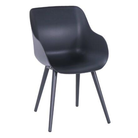 """Hartman """"Sophie Studio"""" Organic Chair, Gestell Aluminium xerix, Sitzschale xerix"""