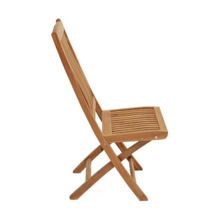 """Ploß Klappstuhl """"Arlington"""" mit ergonischer Sitz- und Rückenfläche, Premium Teak natur"""