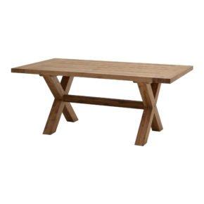 """Ploß Rustikal-Tisch """"Lincoln"""", Ausführung Old Teak gebürstet"""