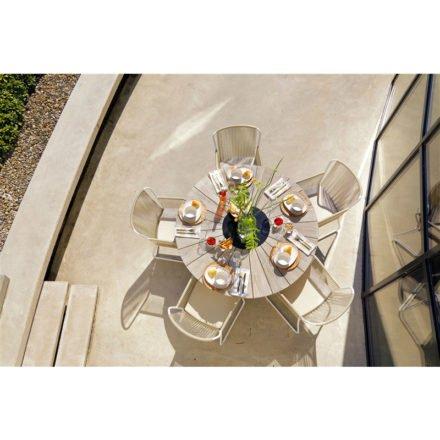 """Hartman """"Provence"""" Gartentisch, Teakholz mit Granit-Einlage"""