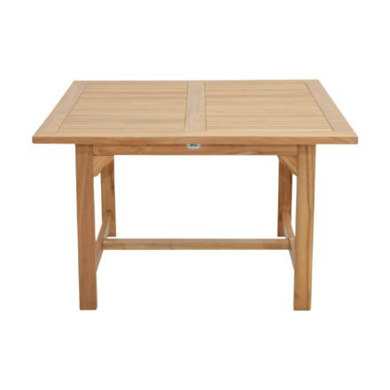 """Ploß Gartentisch """"Coventry"""" 120x120 cm, Ausführung Premium-Teak natur"""
