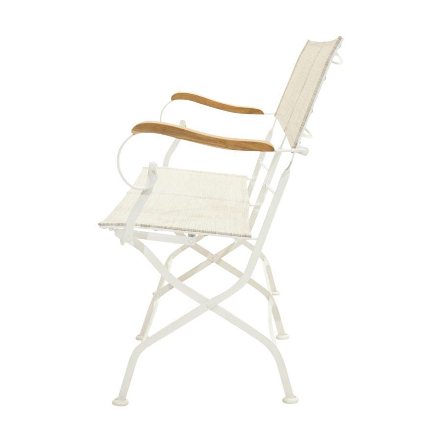 Original Ploß Gartenstuhl  Klappstuhl ROM Eisen-Textilbespannung wetterbeständig