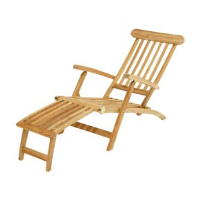 """Ploß Deckchair """"Titanic"""", Premium-Teak natur"""