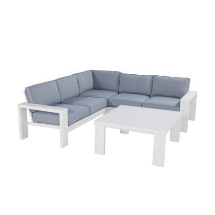 """Hartman """"Titan"""" Lounge-Set, Aluminium weiß"""