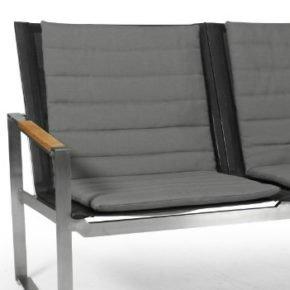 """Brafab Auflage zu Loungesessel """"Gotland"""", 100% Olefin, Farbe grau"""