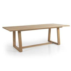 """Brafab """"Laurion"""" Gartentisch, Gestell und Tischplatte Teakholz"""