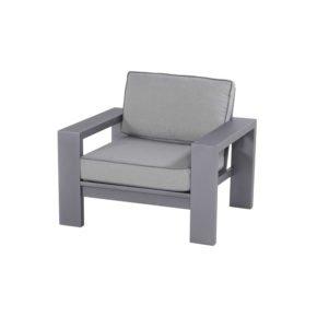 """Hartman """"Titan"""" Loungesessel, Aluminium seal grey"""