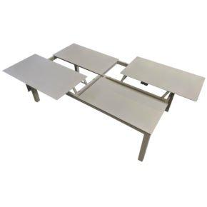 """Home Islands Loungetisch """"Liem"""", Aluminium weiß"""