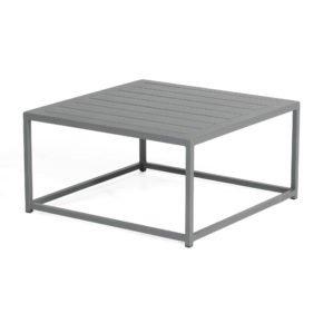 """SonnenPartner Loungetisch """"Basic"""", Gestell und Tischplatte Aluminium anthrazit"""