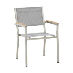 4seasons outdoor stapelsessel nexxt gestell edelstahl textilgewebe ash grey