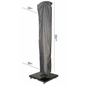 AeroCover Schutzhülle - H250x55/60 cm