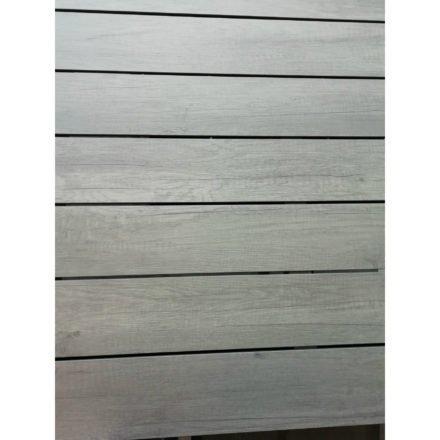 Brafab Tischplatte HPL in Holzoptik, grau