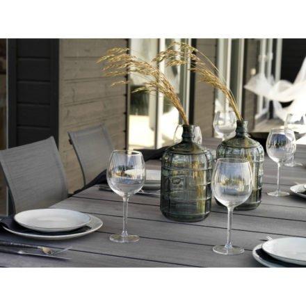 """Brafab Gartentisch """"Hillmond"""", Tischplatte HPL in Holzoptik, grau"""
