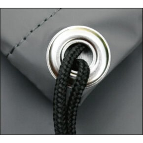 Jati&Kebon Schutzhülle, Material SILK, Farbe grau