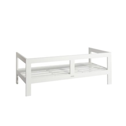 "Jati&Kebon ""Vigo"" 2-Sitzer Loungesofa, Gestell Aluminium weiß"