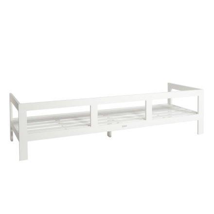 "Jati&Kebon ""Vigo"" 3-Sitzer Loungesofa, Gestell Aluminium weiß"