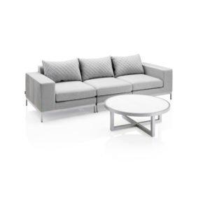 """Kettler """"Ego Modular"""" Loungegruppe bestehend aus 2 Endteilen, Mittelteil und Loungetisch """"Ego"""""""